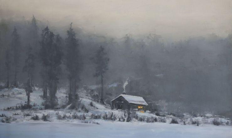 Alapastel - Hidden for the eyes - 04 Frozen Lakes Fog and Snow (Luboš de Gerardo Suržin - Winter Morning)