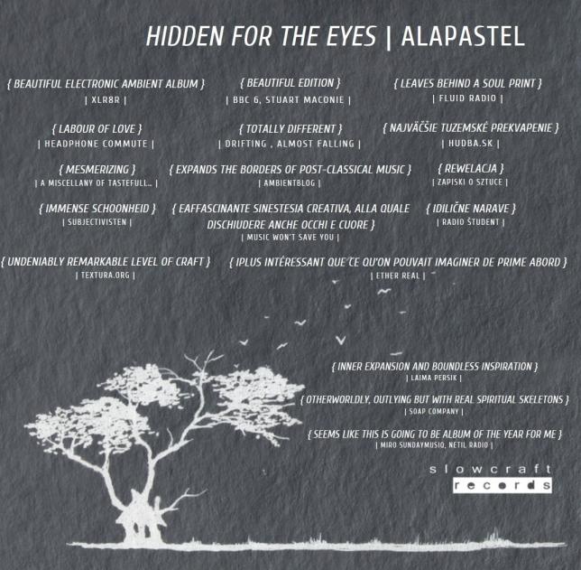 Alapastel - Hidden for the Eyes Lukas Bulko (2018)