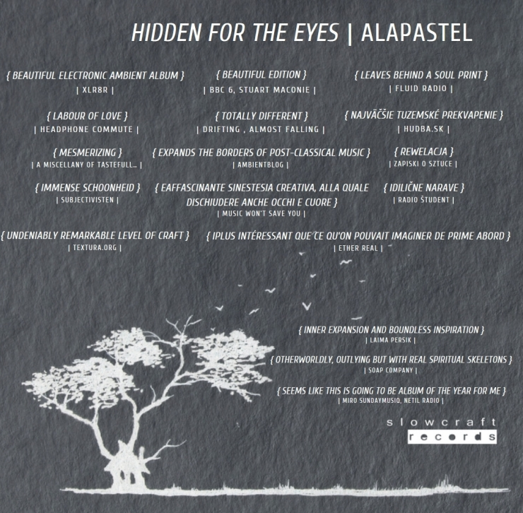 Alapastel - Hidden for the Eyes Lukas Bulko (2018)